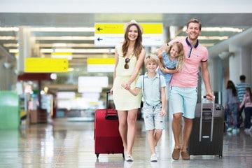 Larnaca Airport passengers