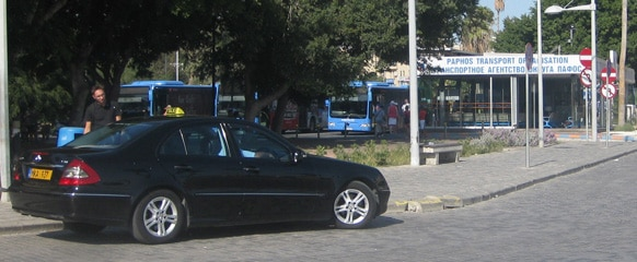 Taxi and busses services Paphos